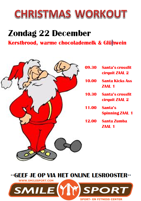 SmileSport Haarlem Christmas Workout