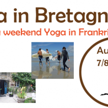 Yoga weekend in Bretagne