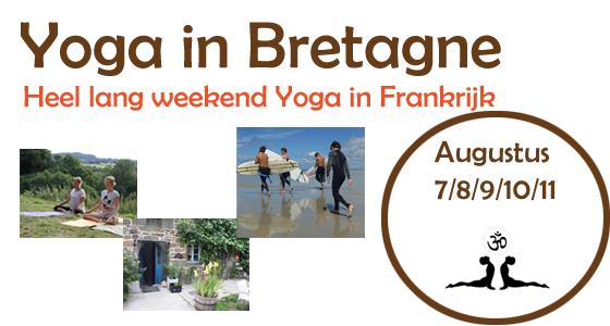 Yoga weekend in Bretagne