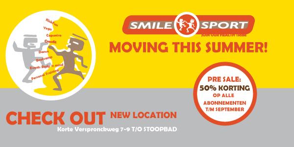 Opening Presale - Smile Sport Haarlem
