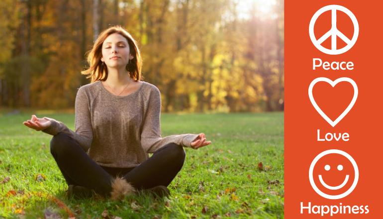 Love, Peace & Smile Meditatie - Er is genoeg ellende in de wereld, laten we daarom met z'n allen mediteren.