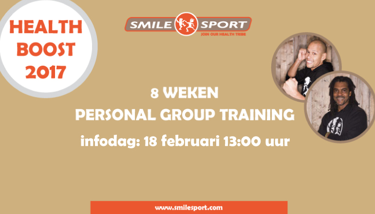 Health-boost-2017 bij Smile Sport