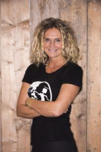 Danielle Leeuwin eigenaresse/manager en creative director van Smile Sport Haarlem