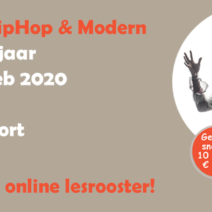 Dance 4 kids, een combinatie van HipHop en modern, start 26 februari bij Smile Sport!