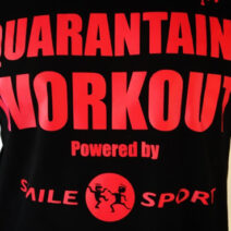 Smile Sport Special – Quarantaine Workout t-shirt